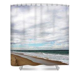 Beach Horizon - Surfer's Paradise Shower Curtain