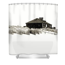 Beach House - Jersey Shore Shower Curtain