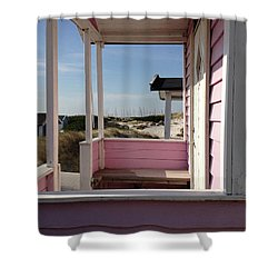 Beach Houses Shower Curtain