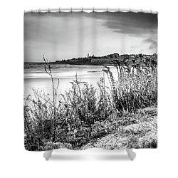 Shower Curtain featuring the photograph Beach In Ogunquit by Doug Camara