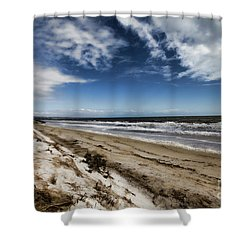 Shower Curtain featuring the photograph Beach Life by Douglas Barnard