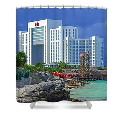 Beach Life In Cancun Shower Curtain