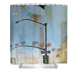 Beach Lights Shower Curtain