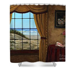 Beach Longing Shower Curtain