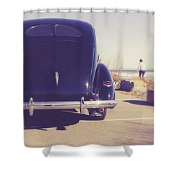 Shower Curtain featuring the photograph Beach Memories by Edward Fielding