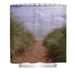 Beach Memories Shower Curtain by Heidi Hermes