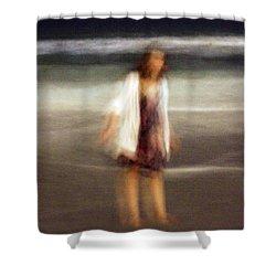 Beach Night 3 Shower Curtain