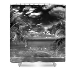 Beach Of Forgotten Colours Shower Curtain by Gabriella Weninger - David