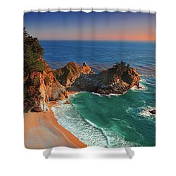 Beach Of Julia Shower Curtain