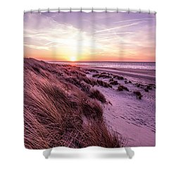 Beach Of Renesse Shower Curtain