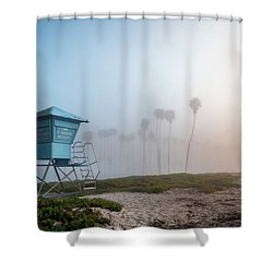 Shower Curtain featuring the photograph Beach Office by Sean Foster