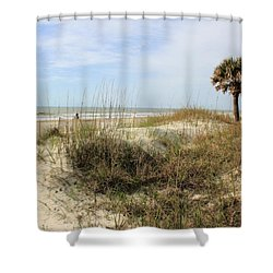 Beach Path Shower Curtain