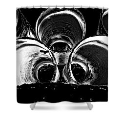 Beach Pipes Shower Curtain