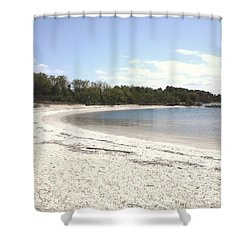 Beach Solomons Island Shower Curtain