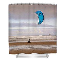 Beach Surfer Shower Curtain