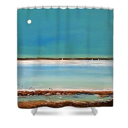 Beach Textures Shower Curtain