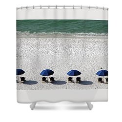 Shower Curtain featuring the photograph Beach Therapy 2 by Marie Hicks