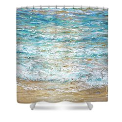 Beach Tide Shower Curtain