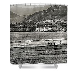 Shower Curtain featuring the photograph Beach Town by Joseph Hollingsworth
