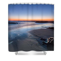 Beach View 2 Shower Curtain by Catherine Lau