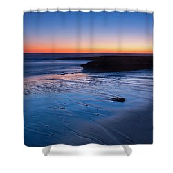 Beach View  Shower Curtain by Catherine Lau