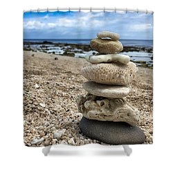 Beach Zen Shower Curtain