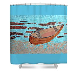 Beached At Washington Oaks Park Shower Curtain