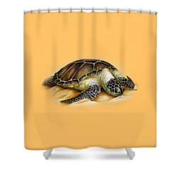 Beached For Promo Items Shower Curtain by William Love