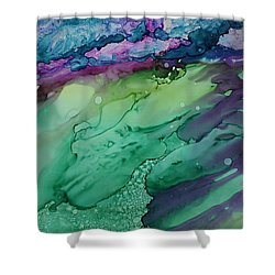 Beachfroth Shower Curtain