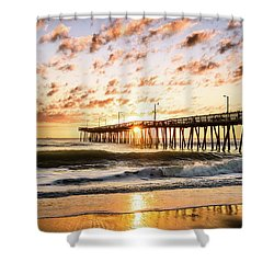 Beaching It Shower Curtain