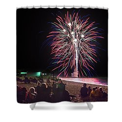 Shower Curtain featuring the photograph Beachside Spectacular by Bill Pevlor