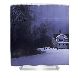 Beacon Shower Curtain by Scott Norris