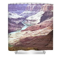 Beamer Trail, Grand Canyon Shower Curtain