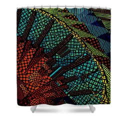 Beaming Shower Curtain