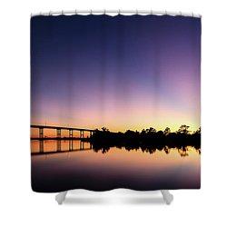 Beams Shower Curtain