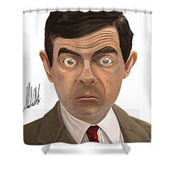 Bean Shower Curtain