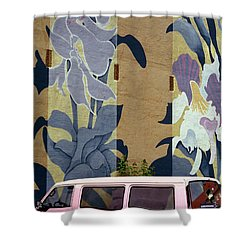Shower Curtain featuring the photograph Beanstalk by Kenneth Campbell