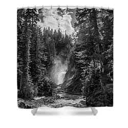 Bear Creek Falls As Well Shower Curtain