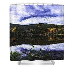 Bear Lake  Shower Curtain