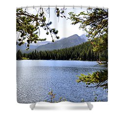 Shower Curtain featuring the photograph Bear Lake Rmnp by Nava Thompson