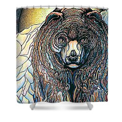 Bear Shower Curtain