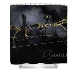 Bear Mauler Shower Curtain