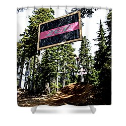 Bearclaw Sponsorship Shower Curtain