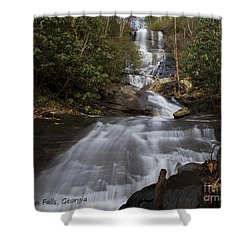 Shower Curtain featuring the photograph Bearden Falls by Barbara Bowen