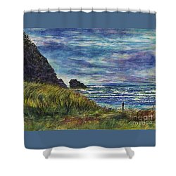 Beards Hollow Connection Shower Curtain