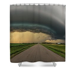 Shower Curtain featuring the photograph Beast by Aaron J Groen
