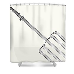 Beat It Shower Curtain by Jean Haynes