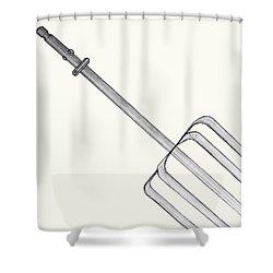 Beat It Shower Curtain