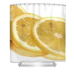 Beat The Heat With Refreshing Fruit Shower Curtain by Nick Mares