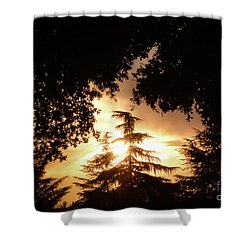 Beaumont Sunset Shower Curtain